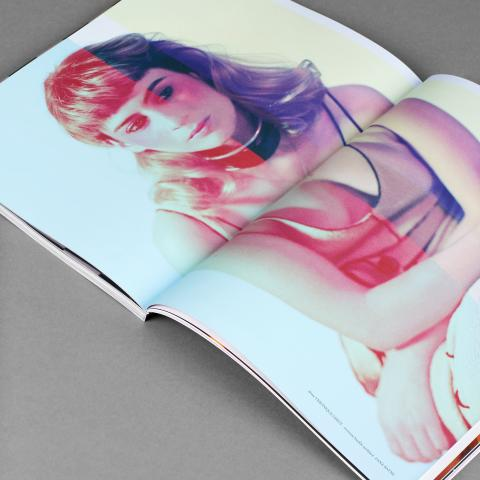 Crush fanzine cover and inside page