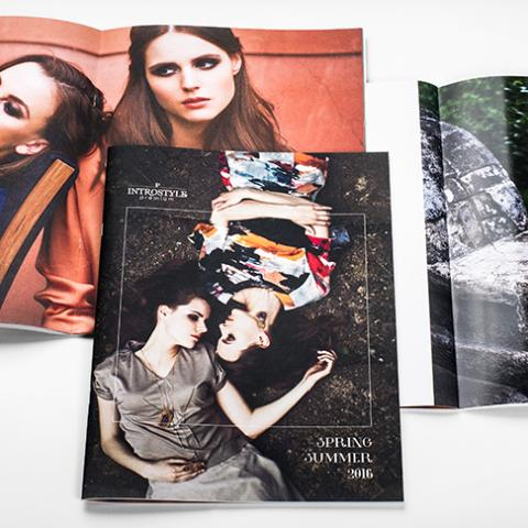 Fashion catalogue design by Jovita Tamasauskiene