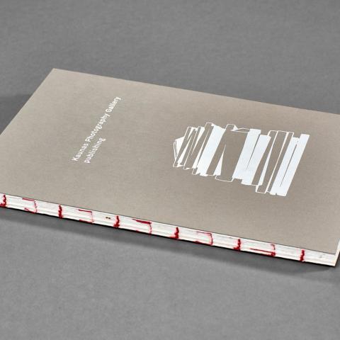 Open spine brochure design by Jurga Dovydenaite