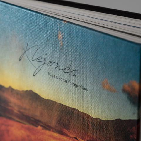Hardcover book design by KOPA design studio designer Indre