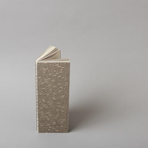 An essay on the concave city corner open spine hardcover book cover